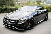 2017 Mercedes-Benz S-Class AMG S63 4MATIC Cabriolet